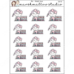 BO - WASHI LOVE - PLANNER STICKERS S419 - Marshmallow Studio