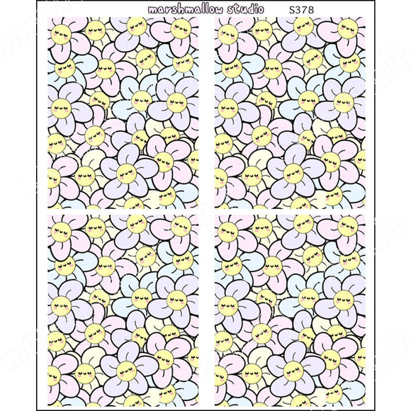 Daisy Crush - Full Boxes Planner Stickers S378 New Releases