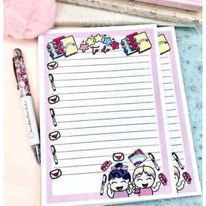 DEBBIE & SHEILA - PLANNER FRIENDS - A5 NOTEPAD - LIMITED EDITION - Marshmallow Studio