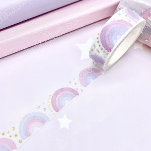 DREAMY RAINBOW CLASSIC - FOILED WASHI TAPE - LIMITED EDITION - Marshmallow Studio