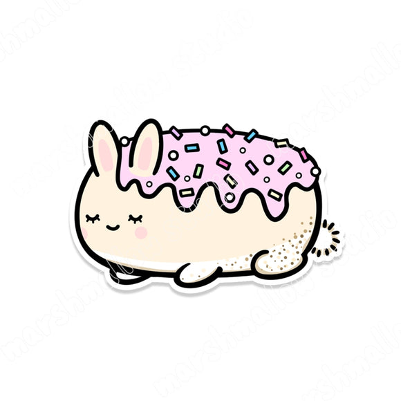 ICED BUN - STICKER FLAKE - F116 - Marshmallow Studio