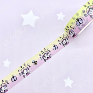 SHEILA SUGAR HAPPY DAY - 15mm WASHI TAPE - LAST CHANCE!! - Marshmallow Studio