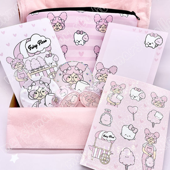 THE FAIRY FLOSS BOX ~ TICKLEDPINKPLANNING COLLAB ~ *MUST BE PURCHASED WITH NOTHING ELSE IN CART - Marshmallow Studio