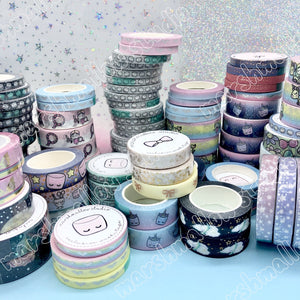 WASHI GRAB BAG 1 - 6 TAPES - Marshmallow Studio