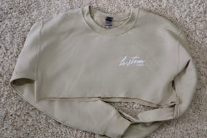 CrewNeck Light Fleece - Sand