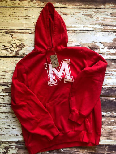 YST254 Hooded Youth Sweatshirt MCS