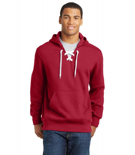 ST271 Lace Up Hooded Sweatshirt MCS