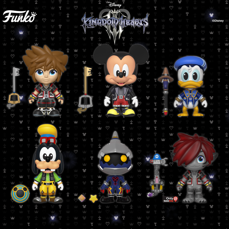 Coming Soon: Kingdom Hearts III Vynl, 5 Star & exclusive Pop!