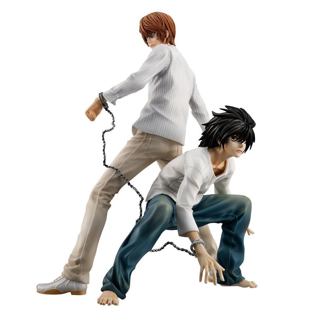 Megahouse G.E.M. DEATH NOTE YAGAMI LIGHT & L (RE-OPENING FOR PRE-ORDER) (Pre-Order)-Fumble Pop!