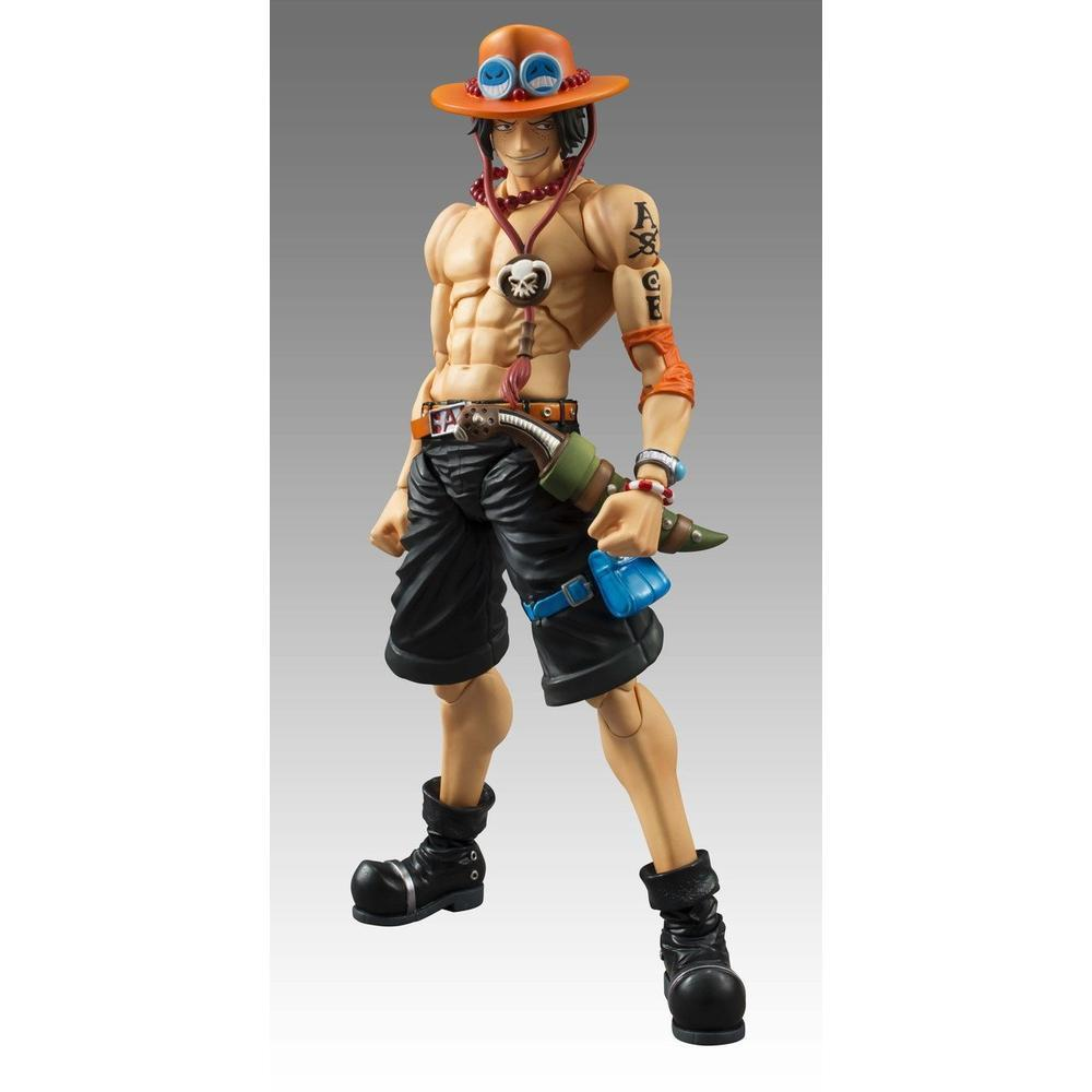 Megahouse VARIABLE ACTION HEROES ONE PIECE PORTGAS・D・ACE(REPEAT) (Pre-Order)-Fumble Pop!