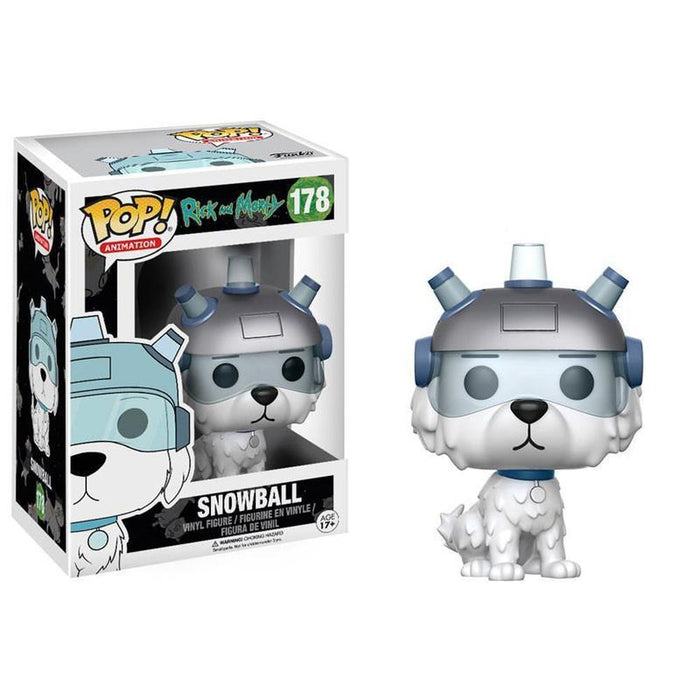 Funko Pop! Animation: Rick and Morty - Snowball-Fumble Pop!