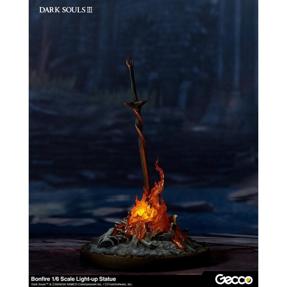 Gecco DARK SOULS Ⅲ/BONFIRE 1/6 SCALE LIGHT-UP STATUE (Pre-Order)-Fumble Pop!