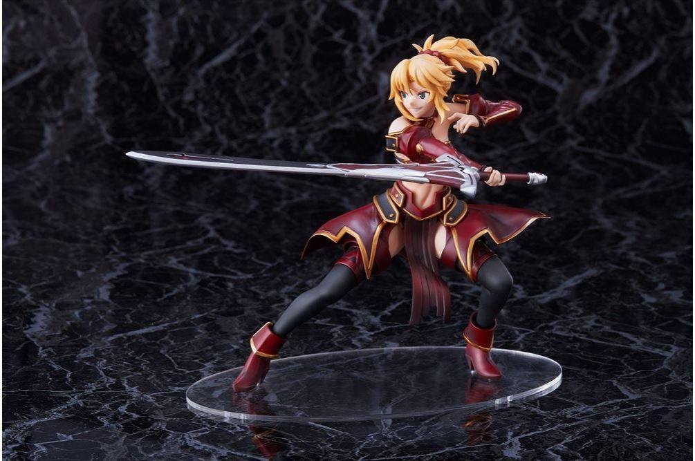 *Fate Apocrypha red of Saber figure