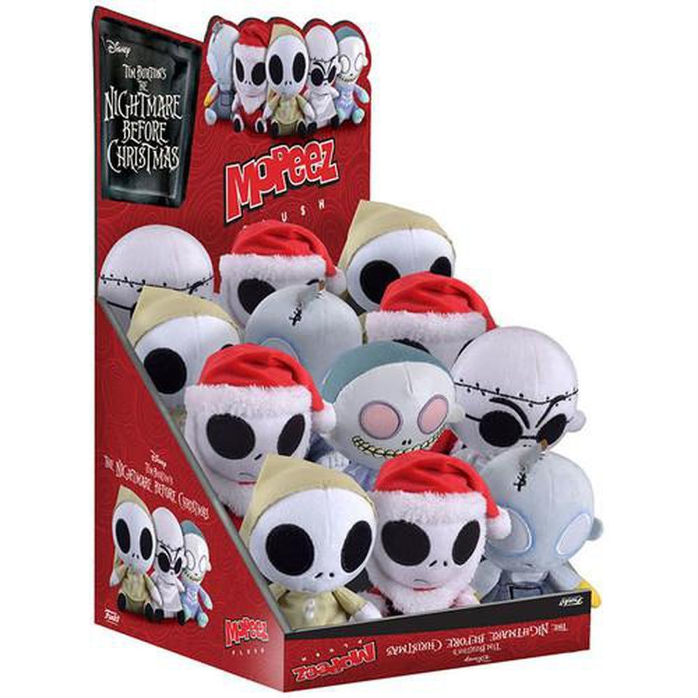 Funko Pop! Mopeez: The Nightmare Before Christmas - W2 (ONE Mystery Plush Per Purchase) (Vinyl Figure)-Fumble Pop!