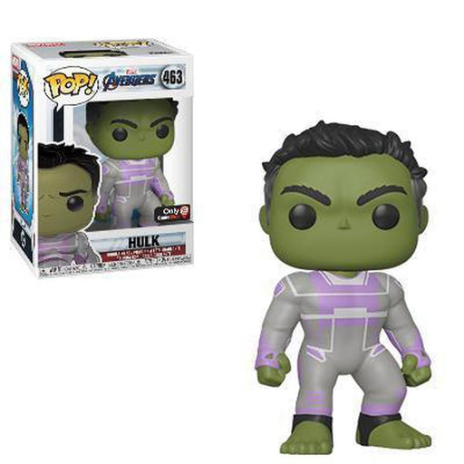 Funko Pop Movie: Avengers Endgame Hulk (Purple Highlight Suit) #463 (Pre-Order)-Fumble Pop!