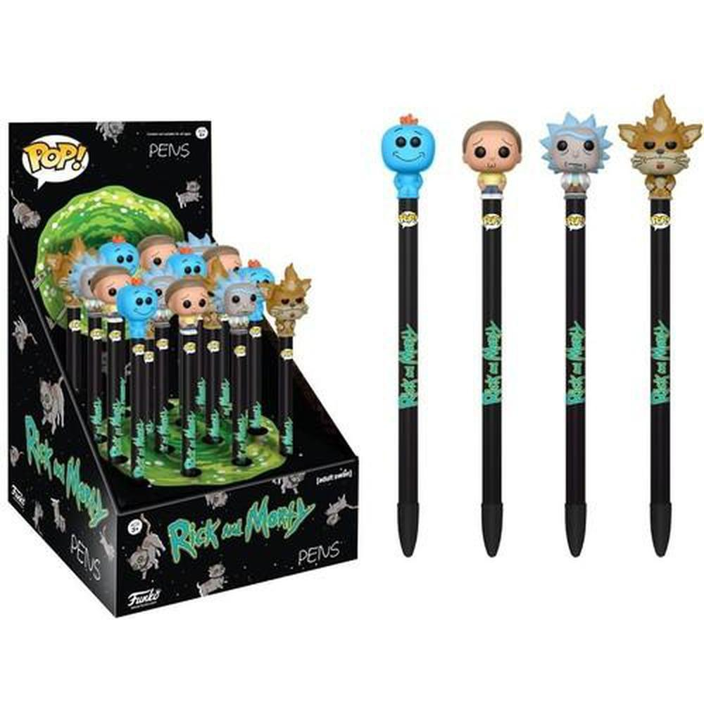 Funko Pop! Pen Topper: Rick and Morty 16PC (One Figure Per Purchase) (Pre-Order)-Fumble Pop!