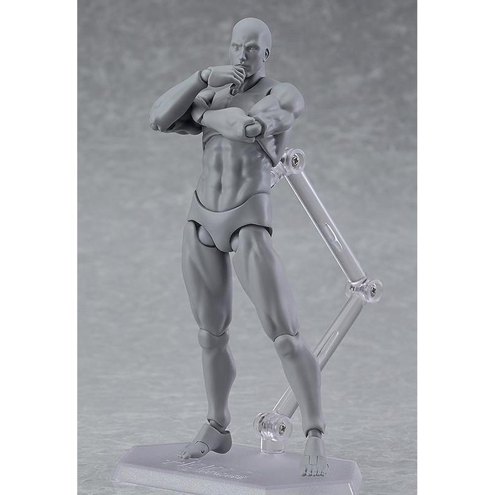 Max Factory figma archetype next: he - gray color ver. (re-run) figma-Fumble Pop!