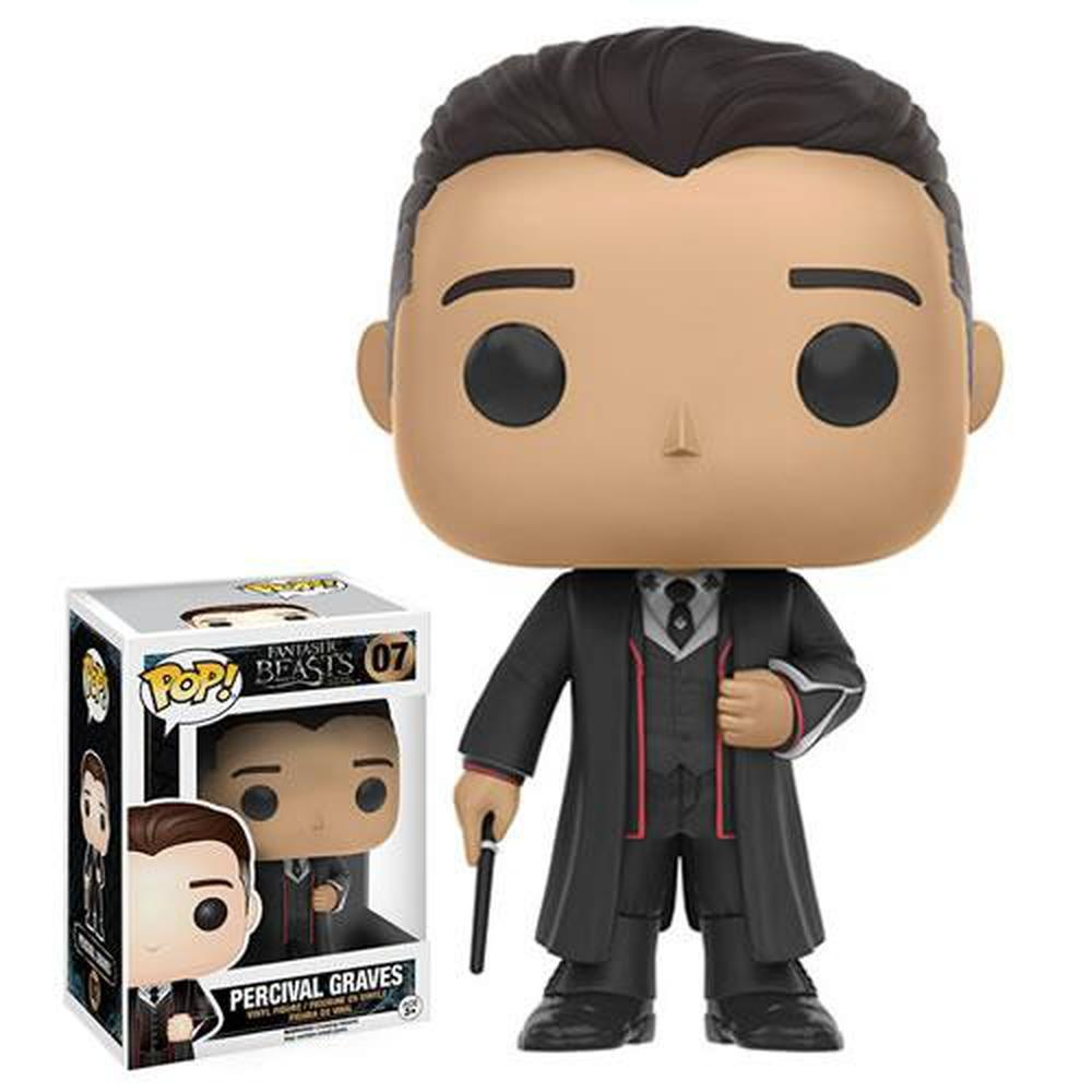 Funko Pop! Fantastic Beasts And Where To Find Them - Percival Graves-Fumble Pop!