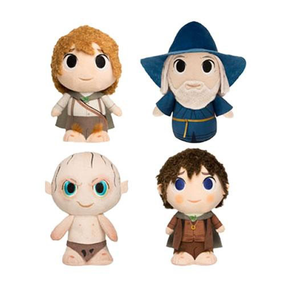 Funko Pop! Plushies - 6pc SuperCute Plushies - Lord Of The Rings Assorted Display-Fumble Pop!