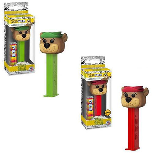 Funko Pop! PEZ - Hanna-Barbera - Yogi Bear w/ Chase-Fumble Pop!