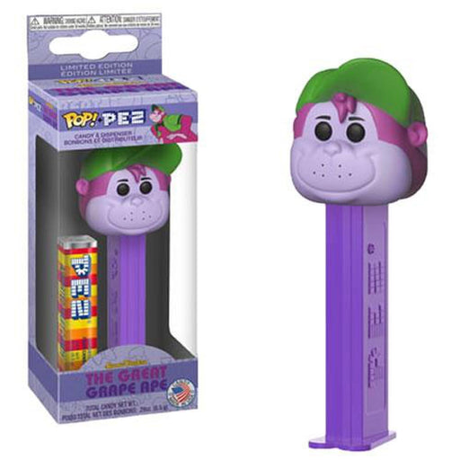 Funko Pop! PEZ - Hanna-Barbera - The Great Grape Ape-Fumble Pop!