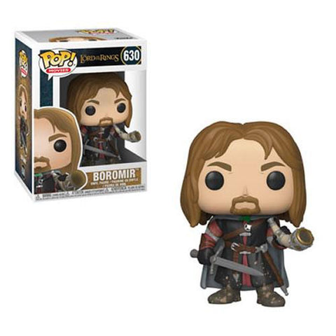 Aragorn Brand New In Box Lord of the Rings//Hobbit S3 POP Keychains Funko