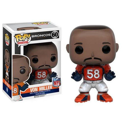 Funko Pop! NFL: Von Miller Wave 3 Pop! Vinyl Figure-Fumble Pop!
