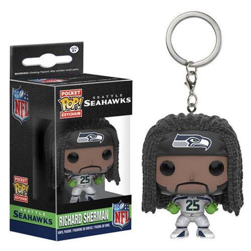 Funko Pop Keychain: NFL Richard Sherman Pocket Pop! Vinyl Key Chain-Fumble Pop!