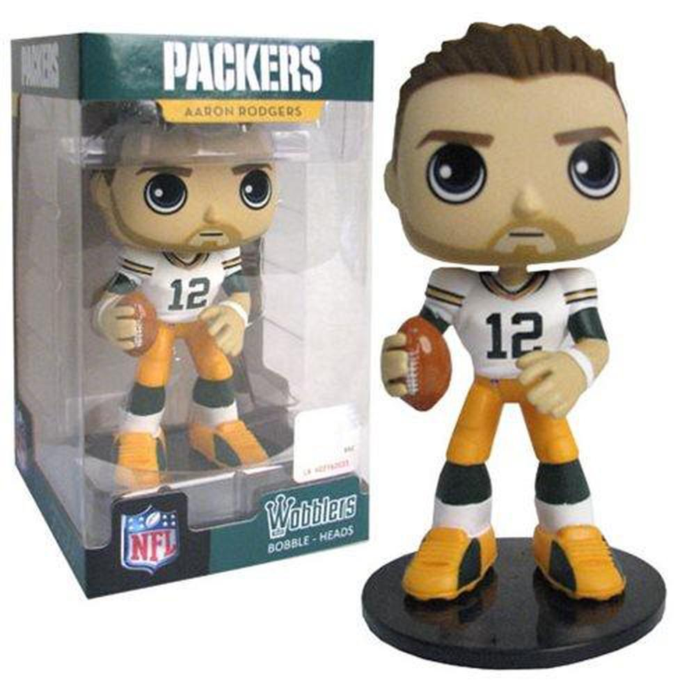 Funko Pop! NFL Aaron Rodgers Bobble Head-Fumble Pop!