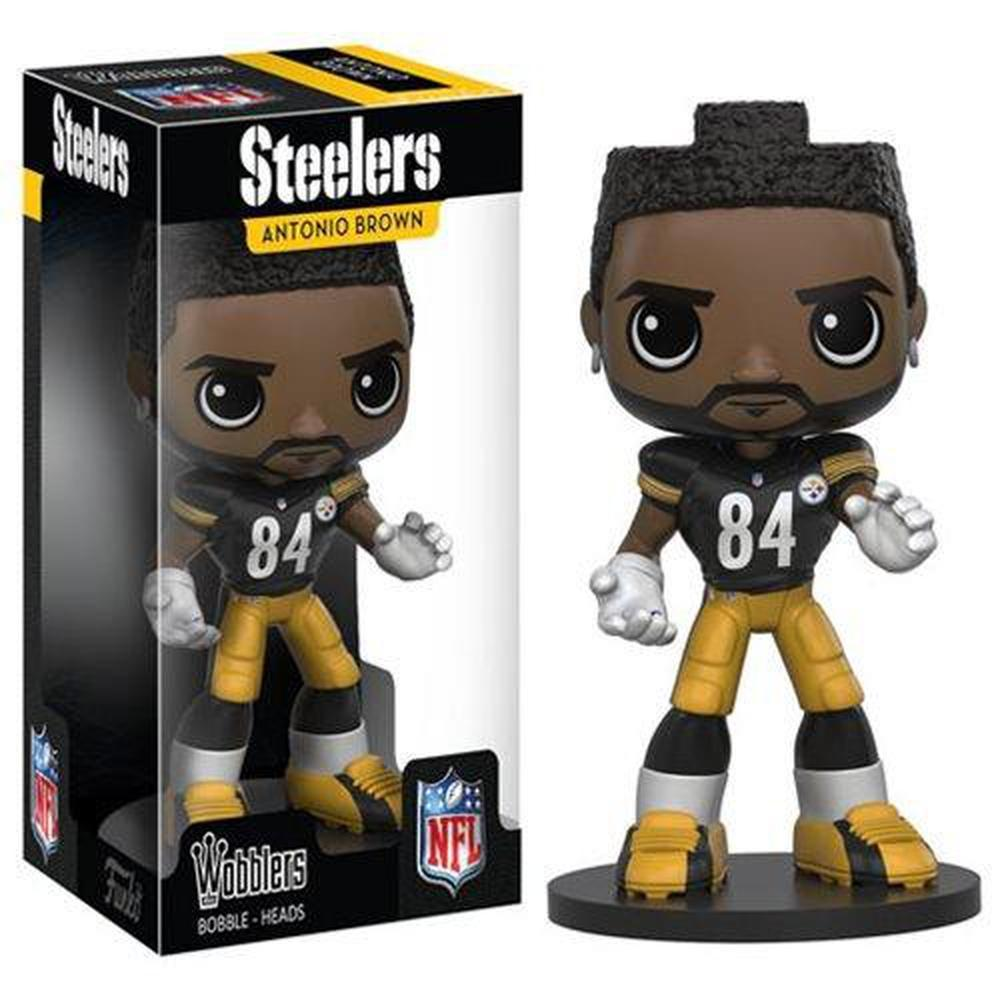 Funko Pop! NFL Antonio Brown Bobble Head-Fumble Pop!