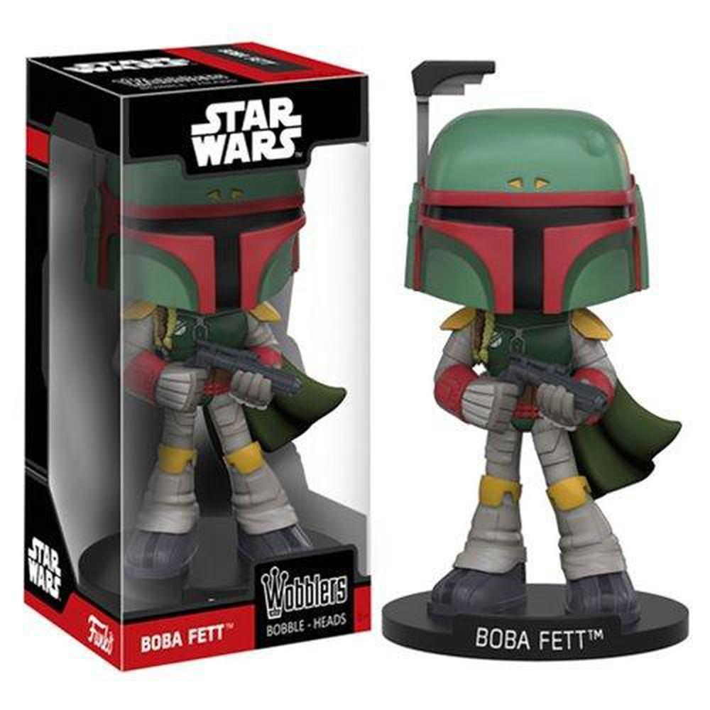Funko Pop! Star Wars Boba Fett Bobble Head-Fumble Pop!