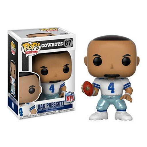 Funko Pop! NFL: Dak Prescott Cowboys Home Wave 4 Pop! Vinyl Figure #67-Fumble Pop!