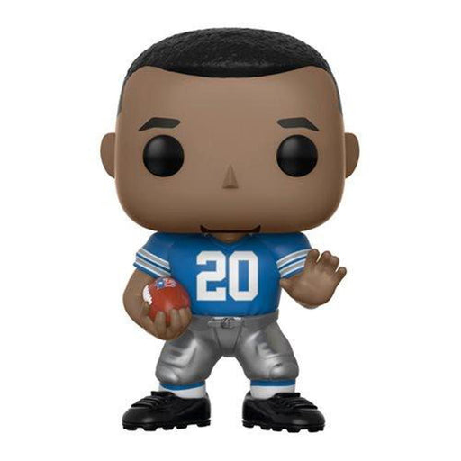 Funko Pop! NFL: Legends Barry Sanders Lions Home Pop! Vinyl Figure #81-Fumble Pop!
