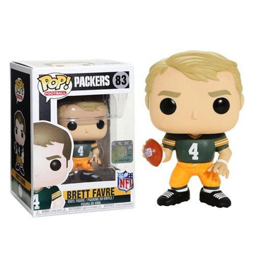 Funko Pop! NFL: Legends Brett Favre Green Bay Home Pop! Vinyl Figure #83-Fumble Pop!