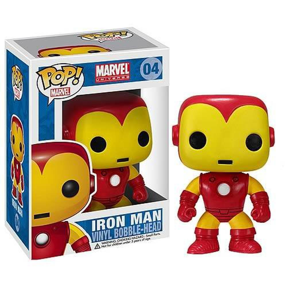 Funko Pop! Movies: Iron Man Marvel Pop! Vinyl Bobble Head (Pre-Order)-Fumble Pop!