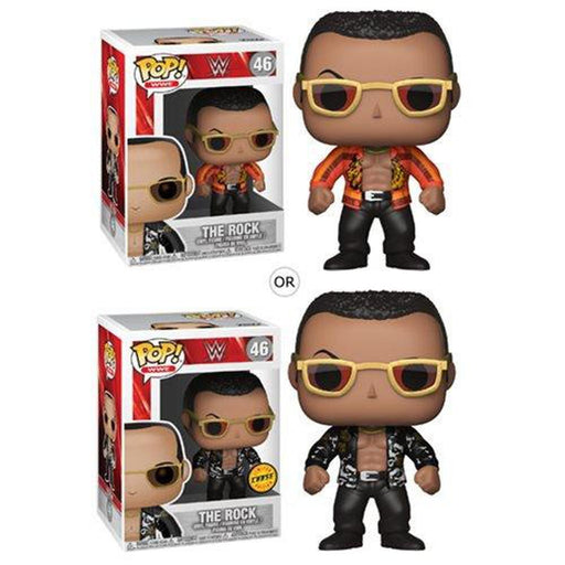 Funko Pop! Sports: WWE The Rock Old School Pop! Vinyl Figure #46-Fumble Pop!