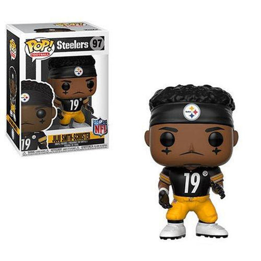 Funko Pop! NFL: Ju Ju Smith Schuster Steelers Pop! Vinyl Figure #97-Fumble Pop!