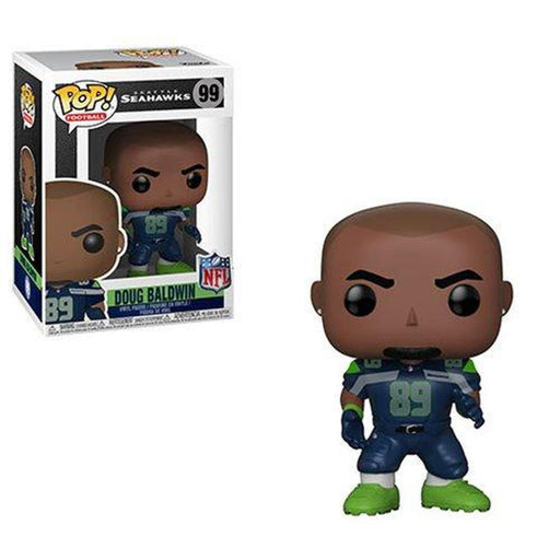 Funko Pop! NFL: Doug Baldwin Seahawks Pop! Vinyl Figure #99-Fumble Pop!
