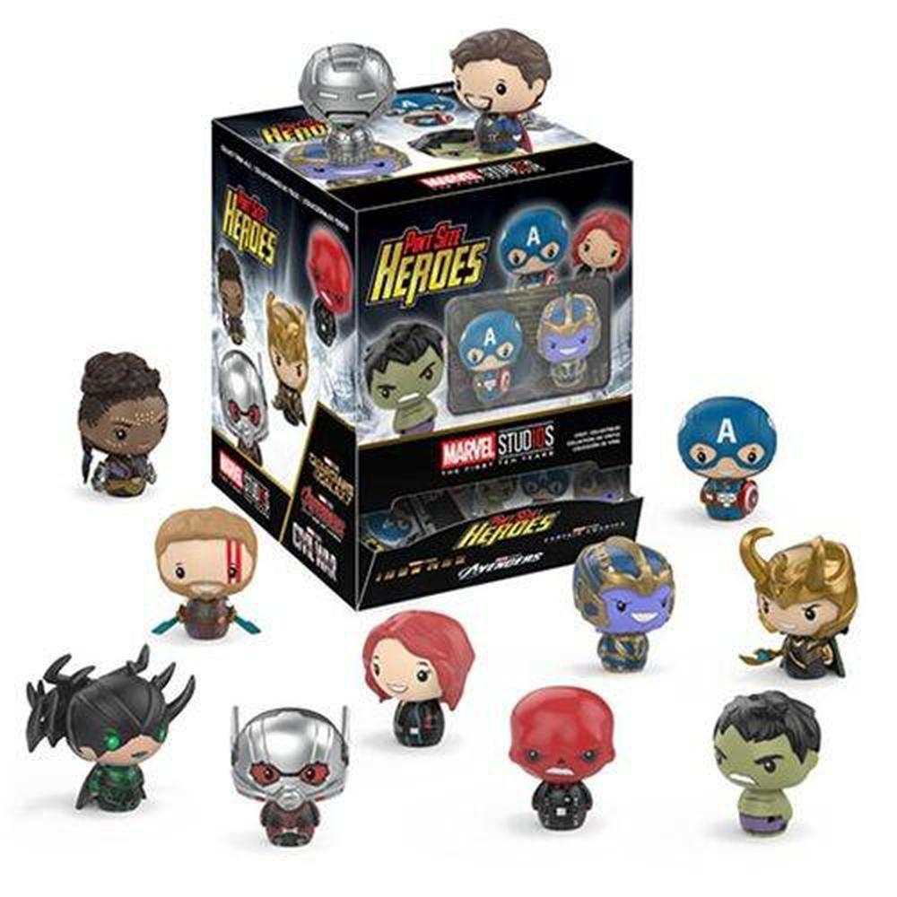 Funko Pop! Mystery Mini: Marvel Studios 10 Pint Size Heroes Mini-Figure Master Carton-Fumble Pop!