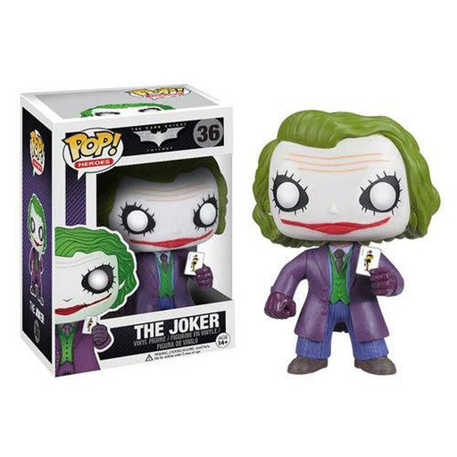 Funko Pop! Movies: Batman Dark Knight The Joker Pop! (Pre-Order)-Fumble Pop!