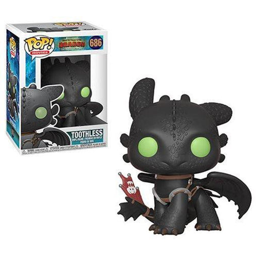 Funko Pop! Animation: How to Train Your Dragon 3 Toothless Pop! Vinyl Figure #686 (Pre-Order)-Fumble Pop!