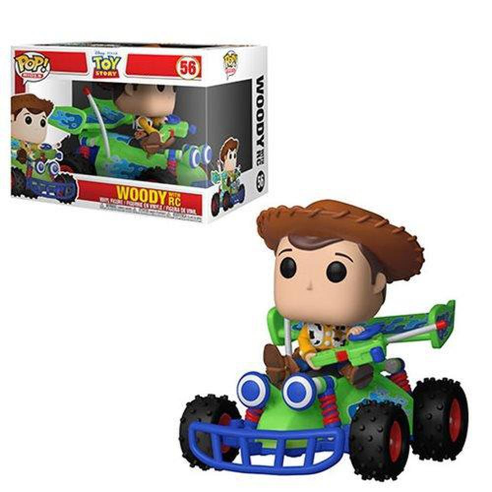 Funko Pop! Animation: Toy Story Woody and RC Pop! Vinyl Vehicle #56 (Pre-Order)-Fumble Pop!