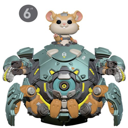 Funko Pop! Games: Overwatch Wrecking Ball 6-Inch Pop! Vinyl Figure-Fumble Pop!