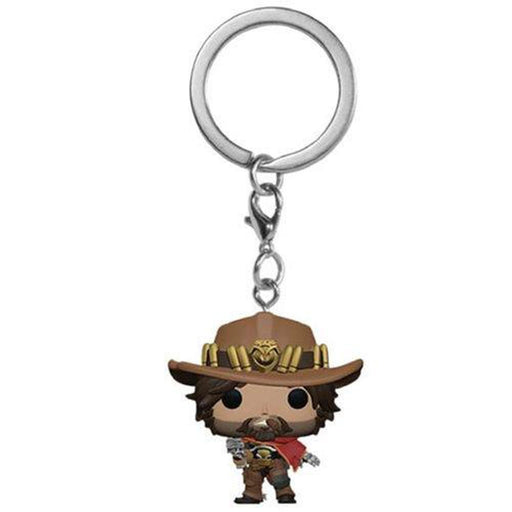 Funko Pop Keychain: Overwatch McCree Pocket Pop! Key Chain-Fumble Pop!
