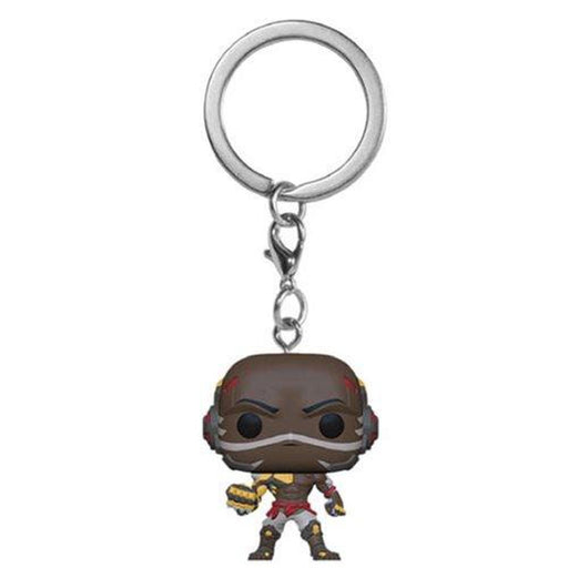 Funko Pop Keychain: Overwatch Doomfist Pocket Pop! Key Chain-Fumble Pop!