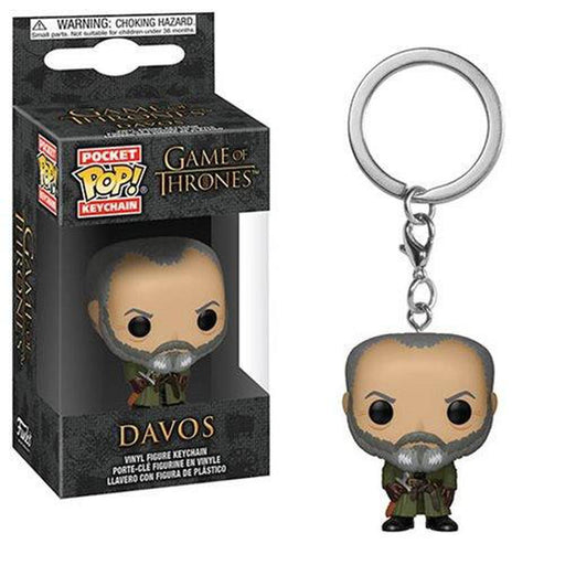 Funko Pop Keychain: Game of Thrones Davos Pocket Pop! Key Chain-Fumble Pop!