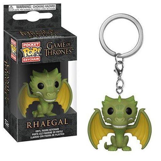 Funko Pop Keychain: Game of Thrones Rhaegal Pocket Pop! Key Chain (Pre-Order)-Fumble Pop!