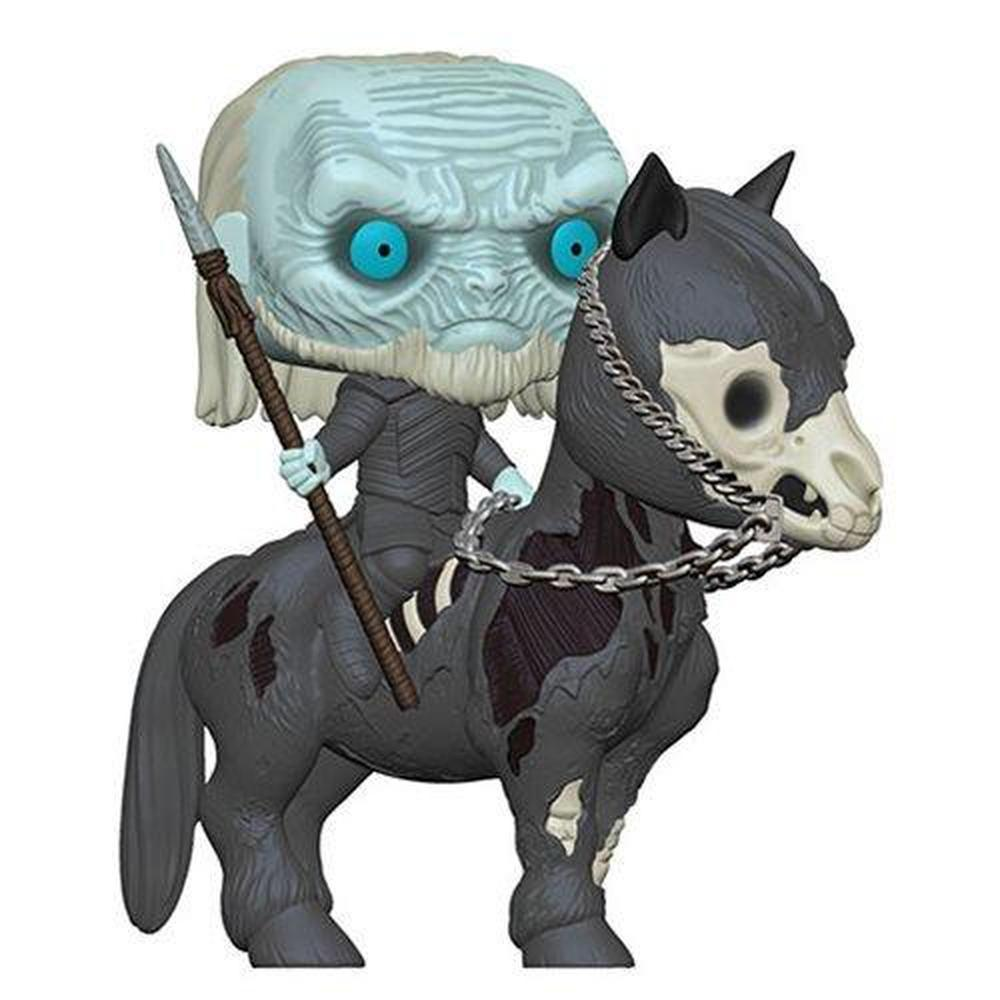 Funko Pop! Television: Game of Thrones White Walker on Horse Pop! Vinyl Vehicle-Fumble Pop!
