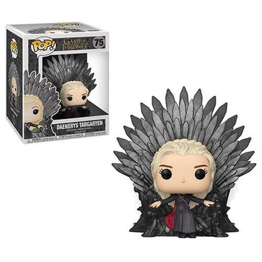Funko Pop! Television: Game of Thrones Daenerys Sitting on Throne-Fumble Pop!
