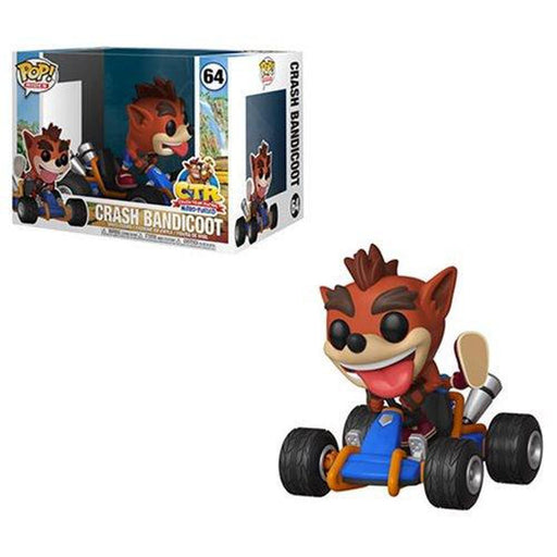 Funko Pop Video Game: Crash Bandicoot Crash Team Racing Pop! Vinyl Vehicle(Pre-Order)-Fumble Pop!